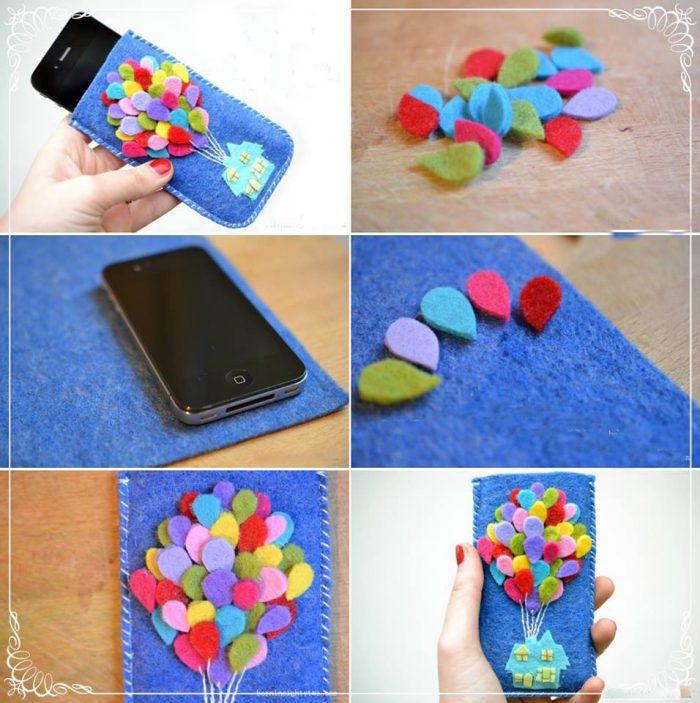 Как украсит телефон своими руками 499