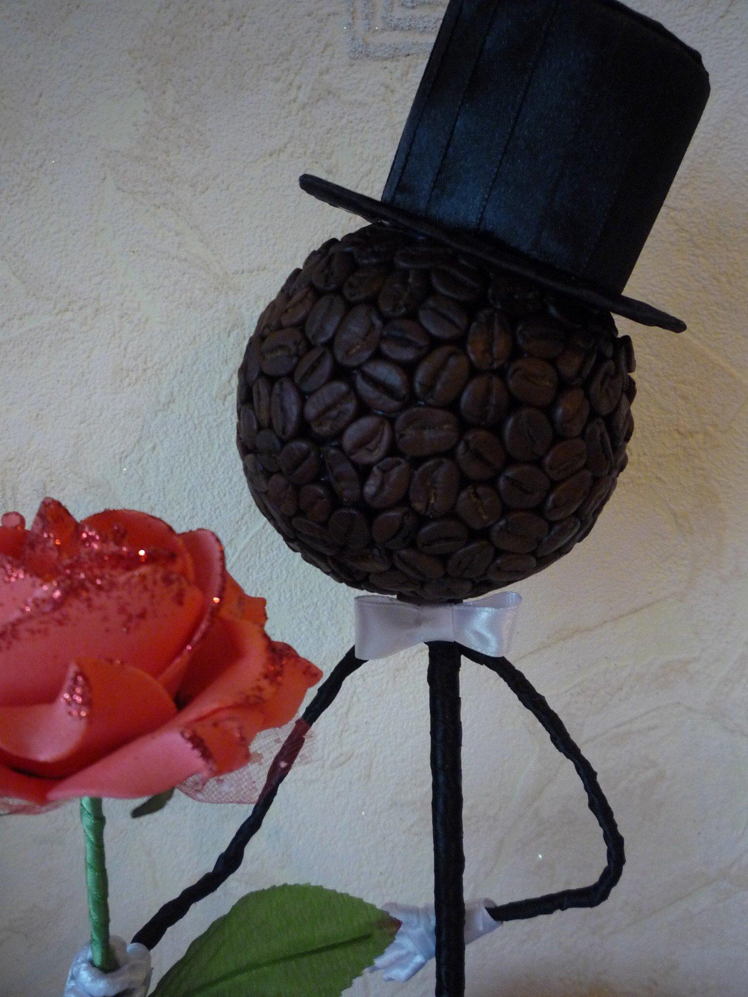 Красивые поделки из кофейных зерен своими руками