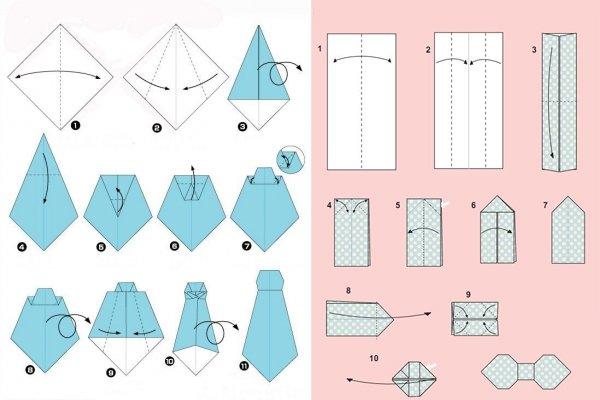 Листівка сорочка з краваткою своїми руками покрокова інструкція ... 3cbccd53b5202