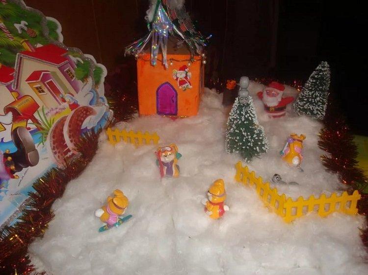 Поделки новогодние в детский сад пошагово 23