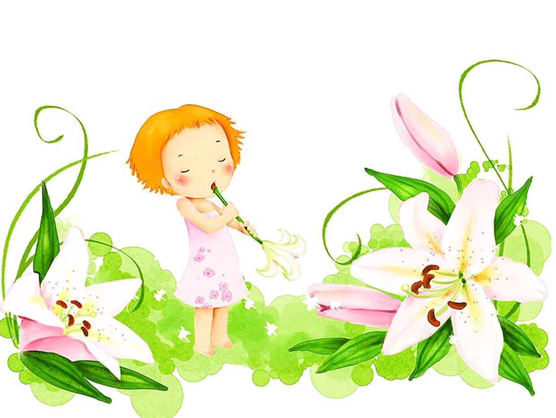 Стиль, день цветов картинки для детей