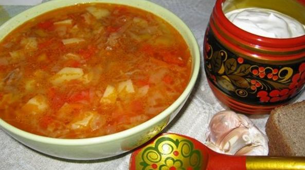 Щи из квашеной капусты постный пошаговый рецепт с