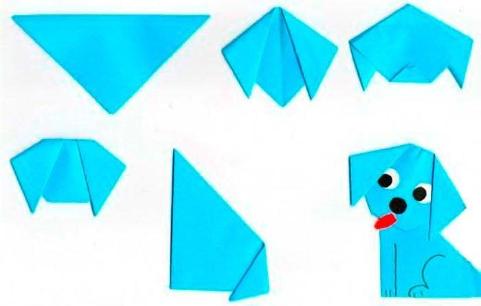 Схемы поделок оригами для дошкольников 71