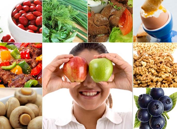 Картинки по запросу Які Вітаміни допомагають поліпшити зір