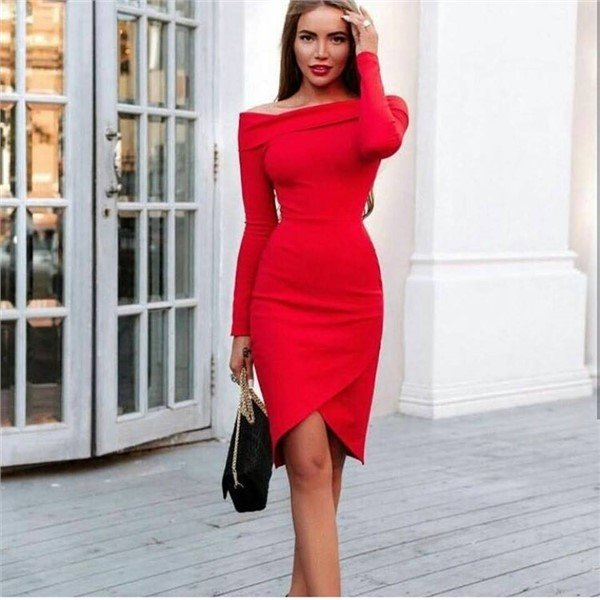 Красиві червоні сукні 2018-2019 і 6 причин його придбати  be903935eb794