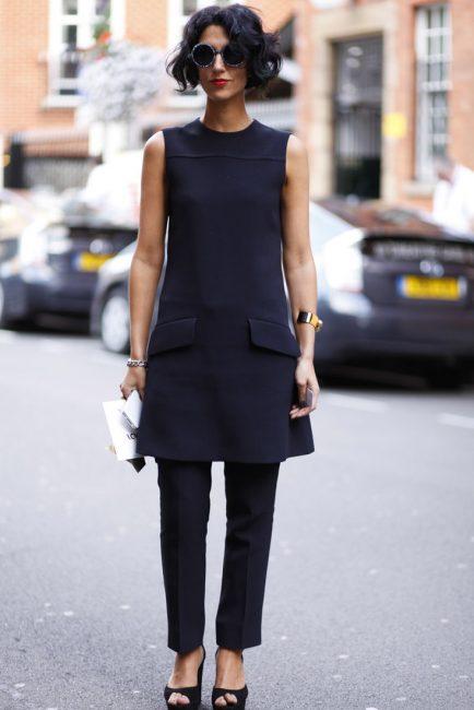 Маленьке чорне плаття  з чим носити в 2019 році + 100 ФОТО  848003bc199ea
