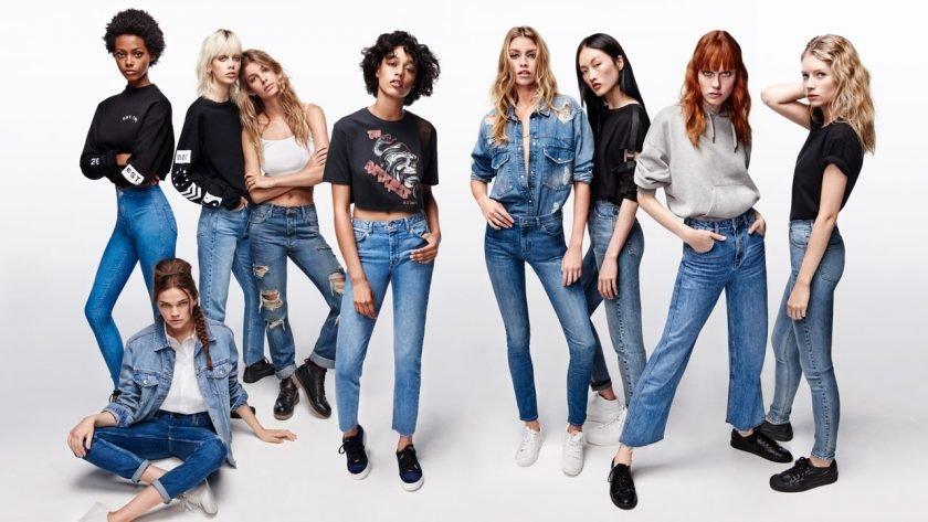 Модні гарні джинси 2019 жіночі  тренди 7377567f47acb