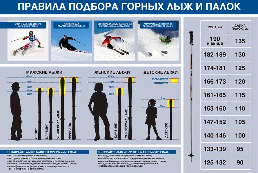Як вибрати гірські лижі  1ac3fa628f20a