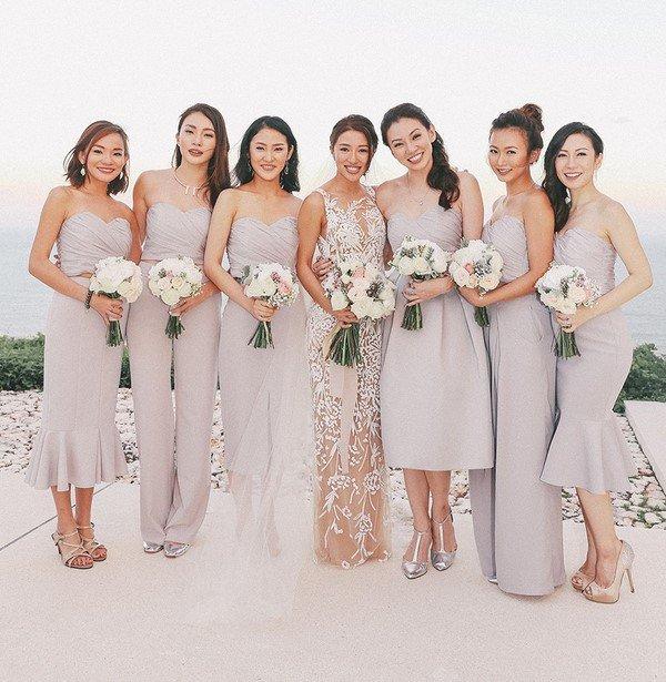 2ea637ded9df39 Модні сукні для подружок нареченої 2018 2019 — тренди, ідеї образів на фото